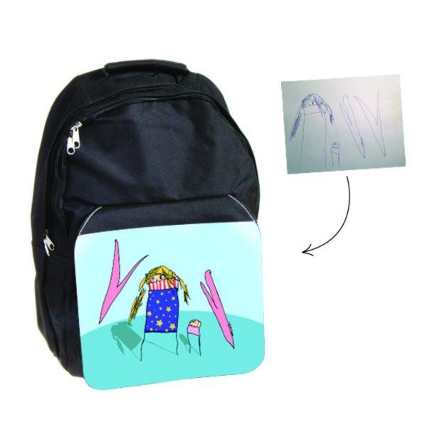 Backpack personalised