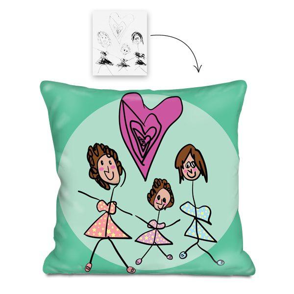 almohada dormitorio para niños