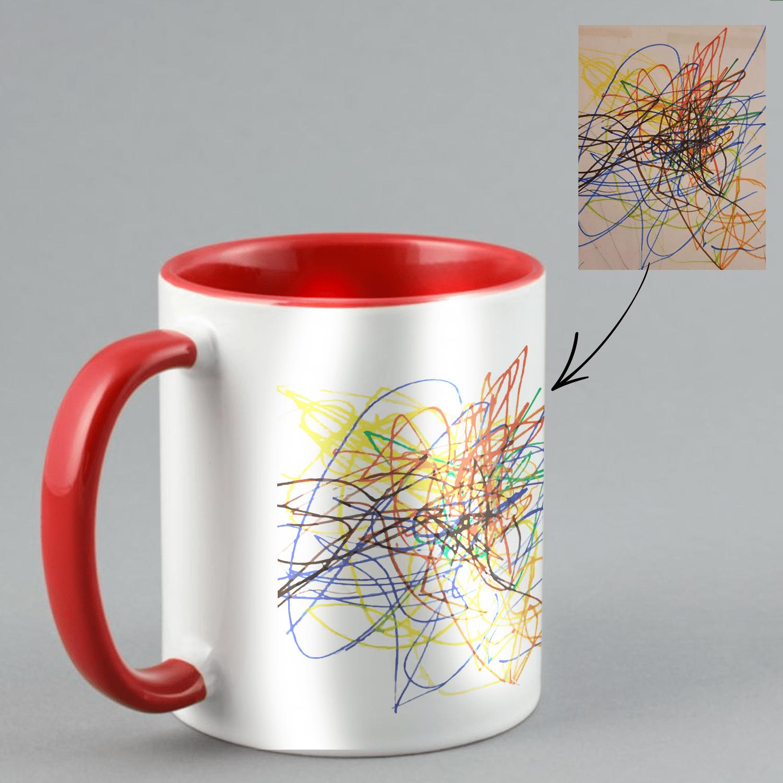 coloured mug custom photo mug personalize gifts picture mugs make your own mug