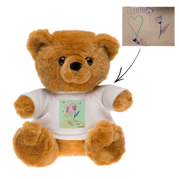 teddy bear stuffed animals plush stuffed animals Personalized teddy bears Customized t-shirt