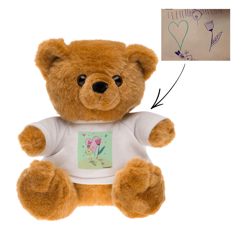 teddy bear stuffed animals plush stuffed animals Personalized teddy bears Customized t-shirt