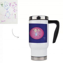 personalised thermos mug